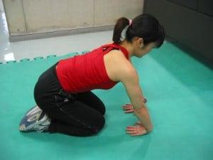 尺側手根伸筋のストレッチ