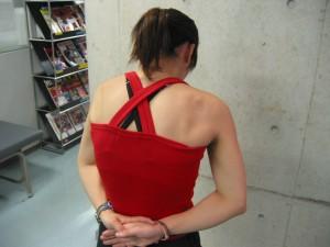 背部のスタティックストレッチ